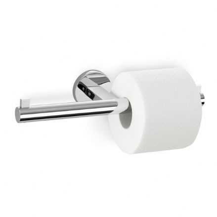 Zack Scala Double Toilet Roll Holder Polished Stainless Steel